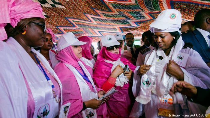 Mauritania minister Nina Amu Dafa Kan (Getty Images/AFP/C.A. Ali)