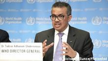 Schweiz Genf | WHO | Coronavirus | Tedros Adhanom Ghebreyesus, Generaldirektor