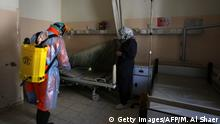 Palästina Westjordanland | Beit Jala Hospital | Desinfizierung von Betten