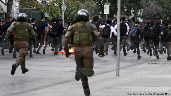 Chile | Schüler protestieren