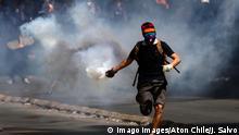Chile   Schüler protestieren