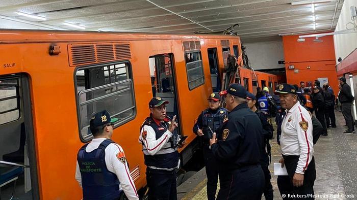 Mexiko | U-Bahnen Unglück in Mexiko-Stadt