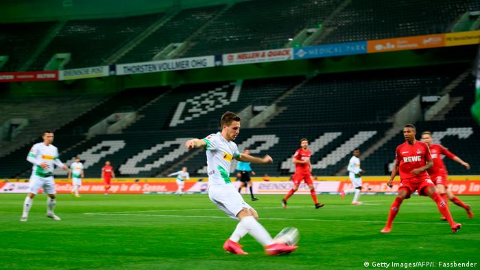 Bundesliga football in empty stadiums may become commonplace