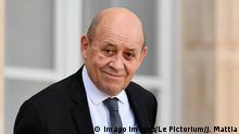 Jean Yves Le Drian, Minister of Europe and Foreign Affairs in the Council of Ministers of February 12, 2020 PUBLICATIONxINxGERxSUIxAUTxONLY JulienxMattiax/xLexPictorium LePictorium0224291