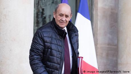 Frankreich   Minister Jean-Yves Le Drian
