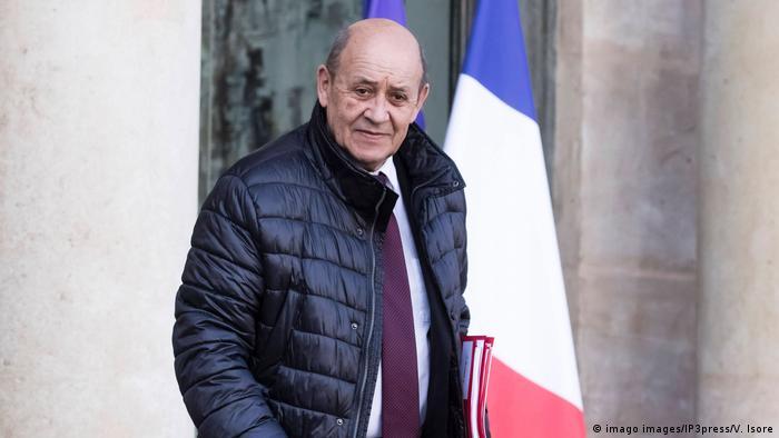 Frankreich | Minister Jean-Yves Le Drian