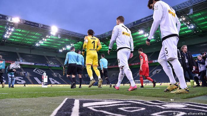 Fussball, Bundesliga   Borussia Mönchengladbach - 1. FC Köln
