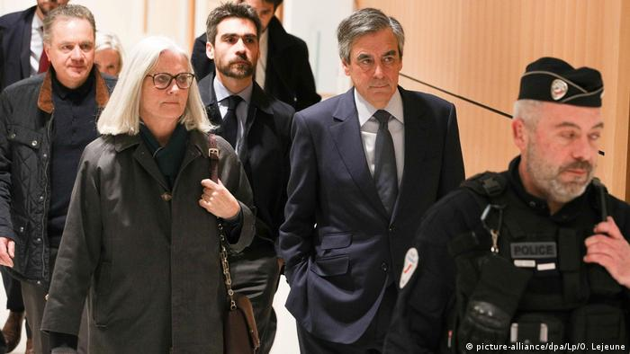 Francois and Penelope Fillon in court