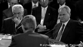 USA Ohio   Franjo Tudjman und Slobodan Milosevic