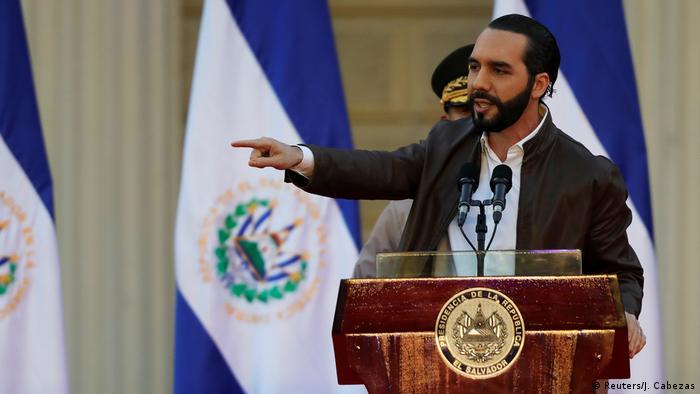 El Salvador Präsident Nayib Bukele