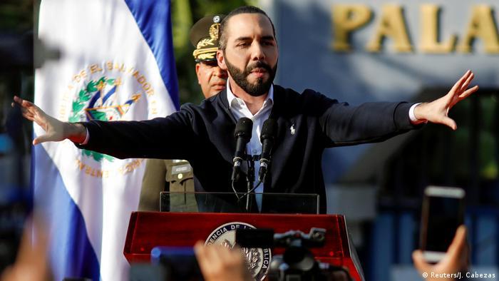 El Salvador Präsident Nayib Bukele (Reuters/J. Cabezas)