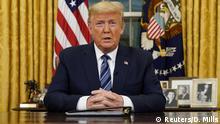 US-Präsident Trump spricht über die Reaktion der USA auf die COVID-19-Coronavirus-Pandemie