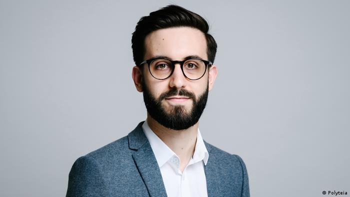 Polyteia founder Faruk Tuncer