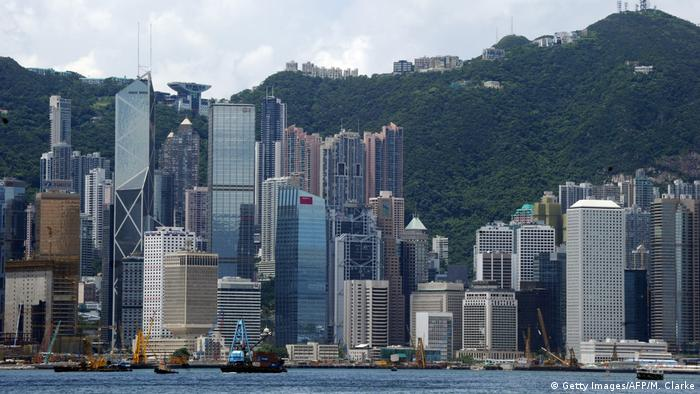 Hongkong Skyline (Getty Images/AFP/M. Clarke)