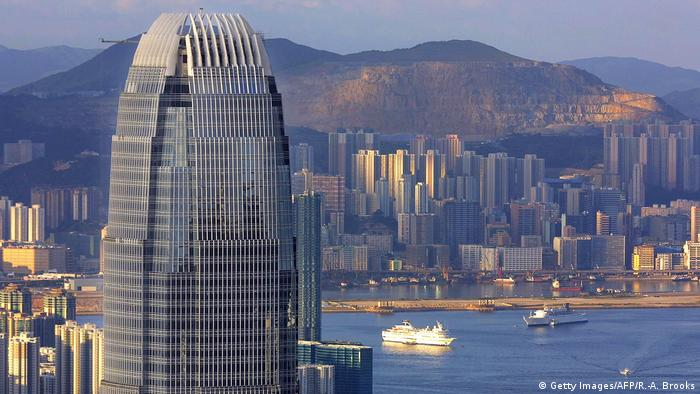 HONG KONG-PROPERTY-IFC (Getty Images/AFP/R.-A. Brooks)