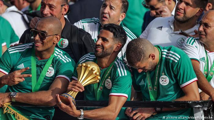 L'Algerie remporte la CAN en 2019 (picture-alliance/dpa/F. Batiche)
