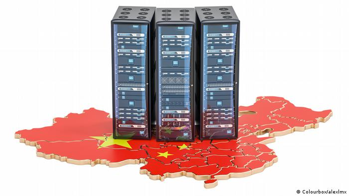 China Symbolbild Cyber-Überwachung
