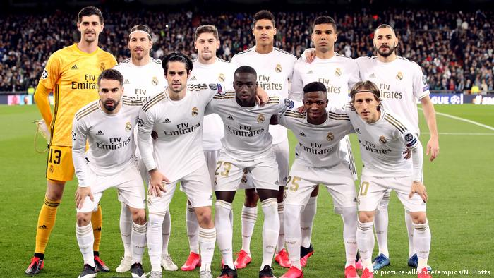 Fußball Champions League Team Real Madrid (picture-alliance/empics/N. Potts)