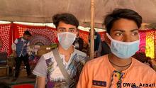 Indien Coronavirus Neu Delhi