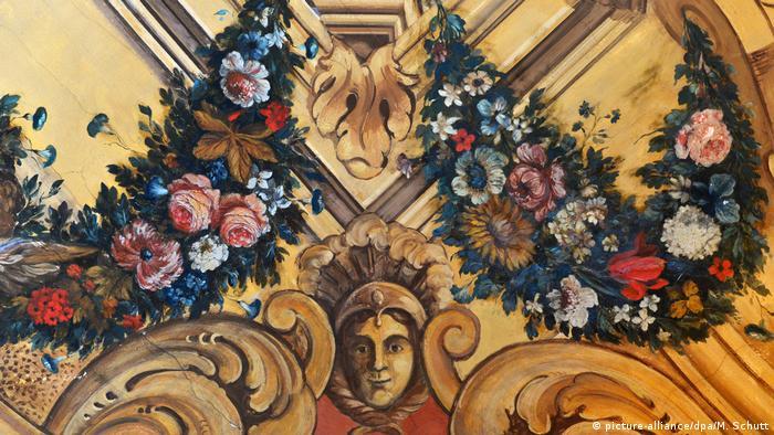 Фрески в Банкетном зале замка Мольсдорф