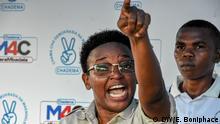 Die Vorsitzende des CHADEMA-Frauenflügels Halima Mdee