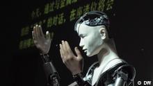 DW Sendung Shift Roboter