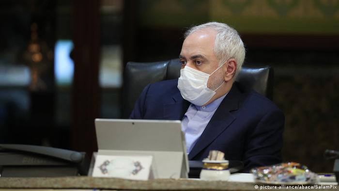 Iran's foreign minister, Javad Zarif (picture-alliance/abaca/SalamPix)