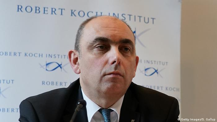 Der Vize-Präsident des Robert-Koch-Instituts, Lars Schaade (Foto: Getty Images/S. Gallup)