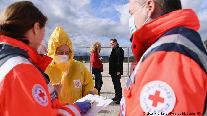 Заходи з протидії поширенню коронавірусу передусім стосуватимуться німецьких лікарень