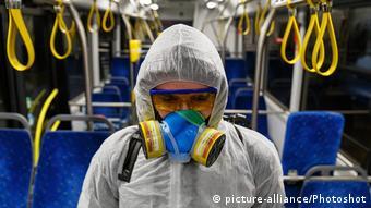 Дезінфекцію громадського транспорту в Україні проводили ще до запровадження карантину