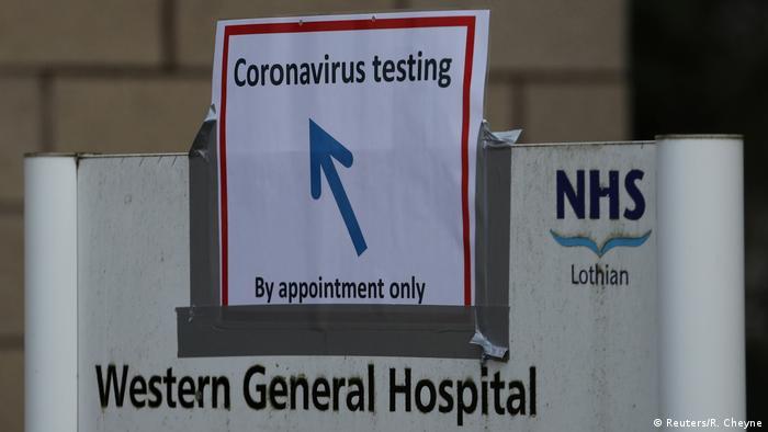 Oznaka u Velikoj Britaniji za testiranje na koronavirus