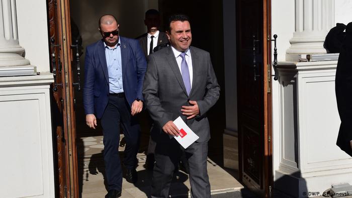 Nord-Mazedonien Zoran Zaev Parteivorsitzender SDSM