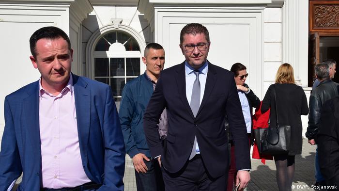 Nord-Mazedonien Hristijan Mickoski VMRO DPMNE Parteivorsitzender