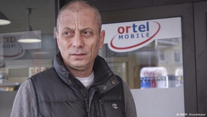 Deutschland Hanau | nach Schießerei, Terrorangriff | Özkan Rutbil, Kioskbesitzer