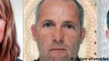 A composite photo of Dubai police handout photos released on 15 February 2010 showing 11 murder suspects with European passports. Dubai's police chief Dhafi Khalfan said during the press conference that police are hunting a group consisting of six British passport holders, three Irish passport holders, one French and one German holder suspected of killing Mahmud al-Mabhuh, a top militant of Palistinian Hamas group, in a Dubai hotel room in January 2010. They are from (L to R first row) Peter Elvinger from France, Stephen Daniel Hodes from Britian, Melvyn Adam Mildine from Britain, Jonathan Louis Graham from Britain, Evan Dennings from Ireland. (From L to R 2nd row) Michael Lawrence Barney from Britain, Paul John Keeley from Britain, Kevin Daveron from Ireland, Gail Folliard from Ireland, Michael Bodenheimer from Germany and James Leonard Clarke from Britain. EPA/DUBAI POLICE / HANDOUT BEST QUALITY AVAILABLE EDITORIAL USE ONLY/NO SALES +++(c) dpa - Bildfunk+++