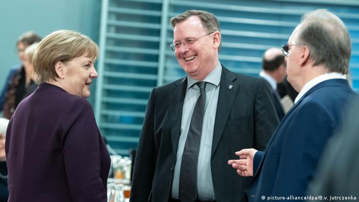 Merkel, Ramelow