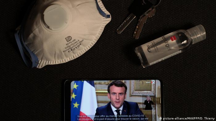Президент Франции обращается к гражданам в связи с коронавирусом
