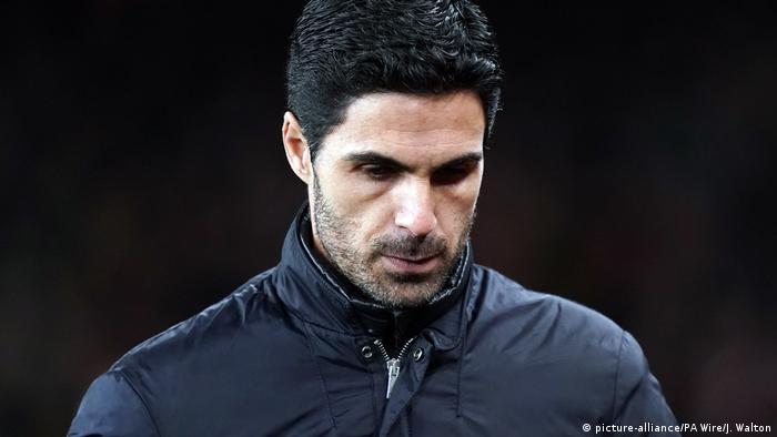 Arsenal head coach Mikel Arteta