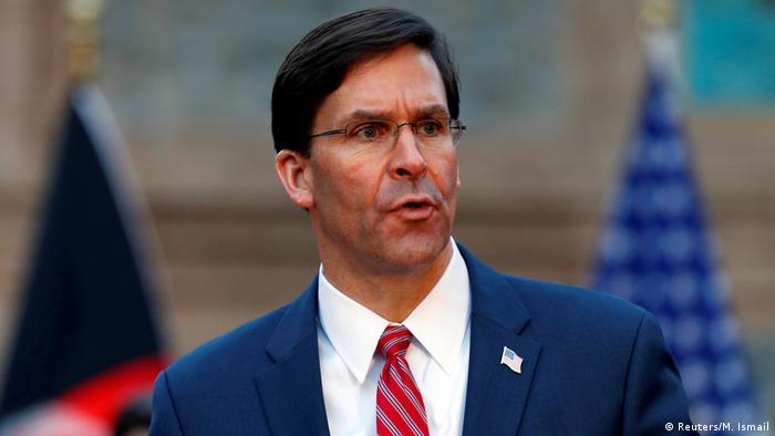 Afghanistan US Verteidgungsminister Mark Esper (Reuters/M. Ismail)