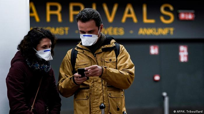 Reisende am Flughafen in Brüssel-Zaventem (Foto: AFP/K. Tribouillard)