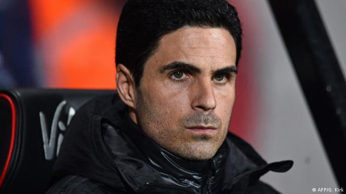 Coronavirus in Premierleague FC Arsenal Trainer Mikel Arteta (AFP/G. Kirk)
