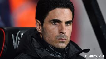 Mikel Arteta, l'entraîneur d'Arsenal