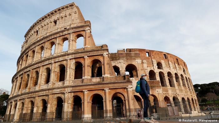 Vorsichtsmaßnahmen wegen des Coronavirus in Italien