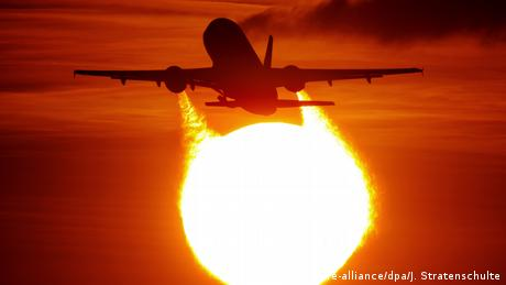 Flying is one of the most carbon-intensive ways to travel — besides emissions from jet fuel, planes also release gases and water vapor that contribute to global heating
