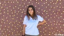 Nur in Verbindung mit dem Lernerporträt verwenden! Porätfoto der Deutschlernerin Marianne aus Chile