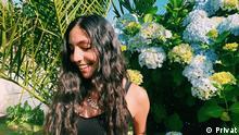 Nur in Verbindung mit dem Lernerporträt verwenden! Porträtfoto der Deutschlernerin Ambar aus Chile CopyrightPrivat