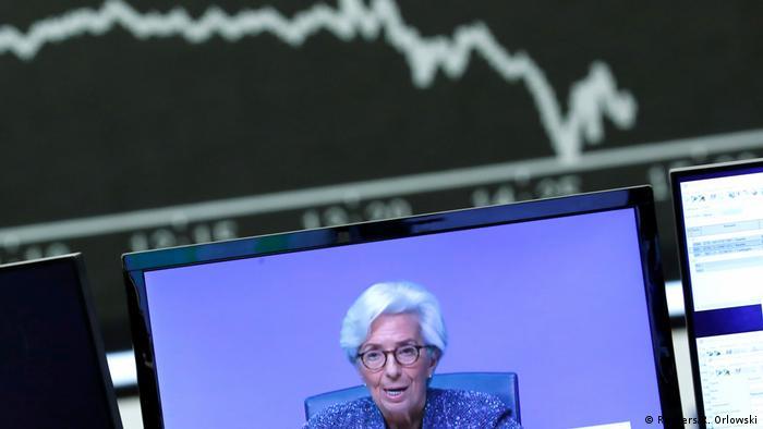 Koronakryzys: prezes EBC Christine Lagarde zapowiedziała program pomocowy