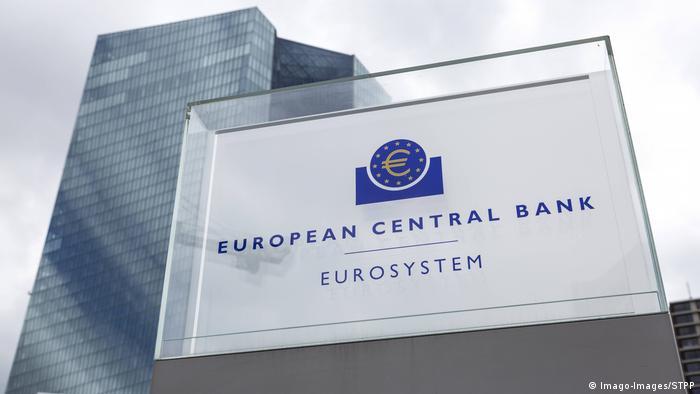 Deutschland Corona | Europäische Zentralbank in Frankfurt am Main (Imago-Images/STPP)