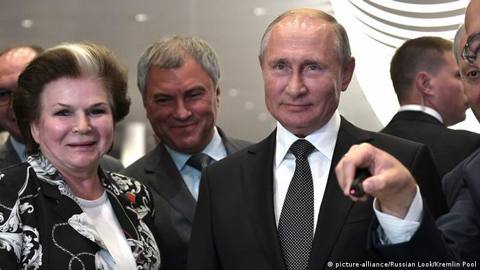 Совершенно неожиданно, о Валентине Терешковой (ретролирики вам в ленту).