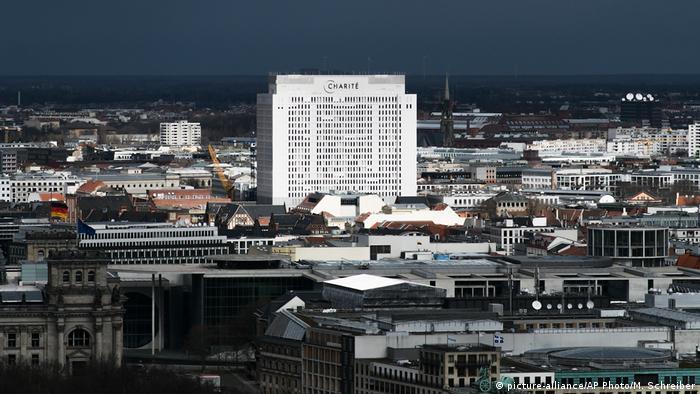 Charitè de Berlim, o maior hospital da Alemanha